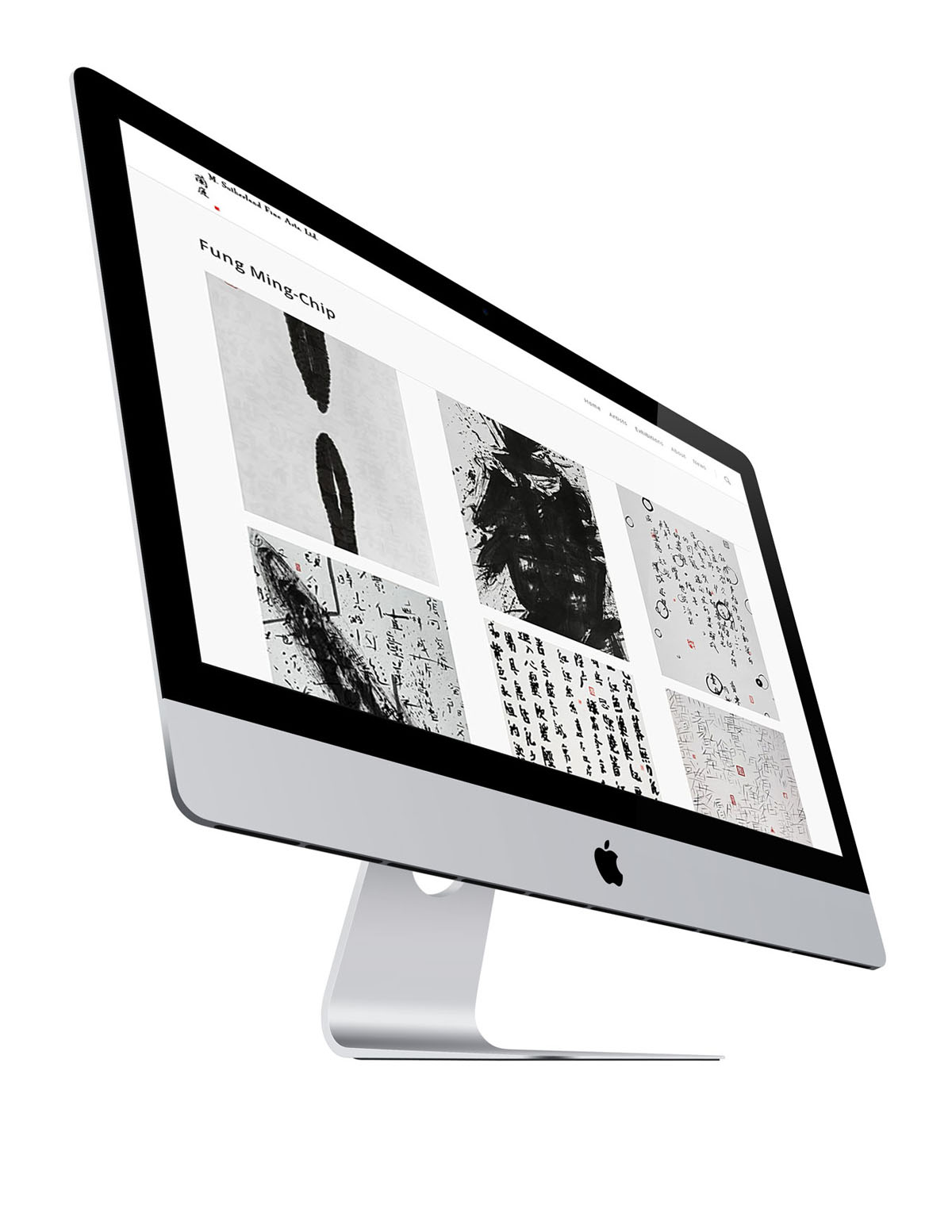 Site launch, M. Sutherland Fine Art