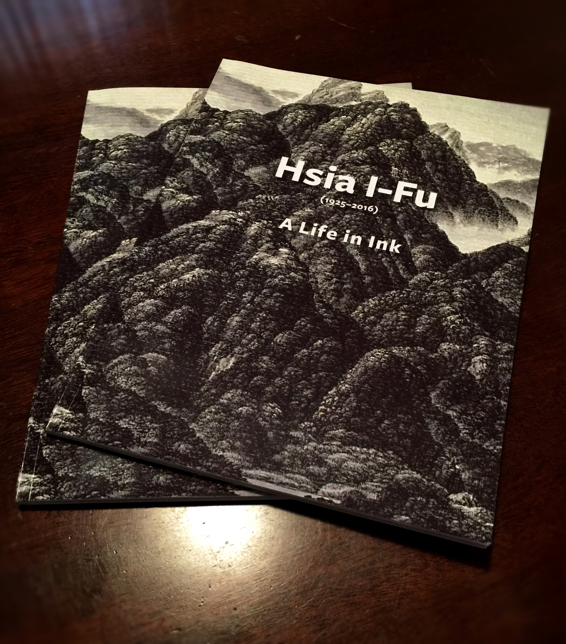 Hsia I-Fu: A Life in Ink catalog for MSFA